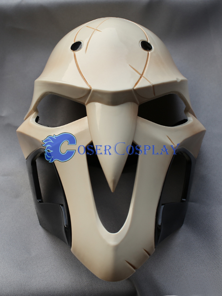 Overwatch OW Reaper Gabriel Reyes Mask Cosplay Accessories